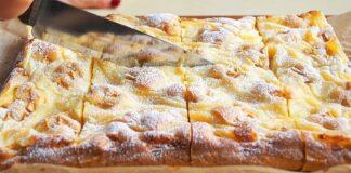 Minkštas pyragas su obuoliais. Išsikepkite jį, kai tik turėsite namuose obuolių!
