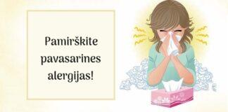 Paprasti būdai, kaip pergudrauti pavasarines alergijas