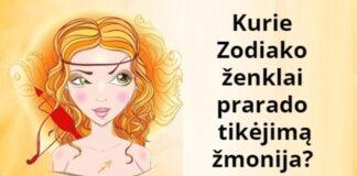 Zodiako ženklai, praradę tikėjimą žmonėmis