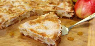 Originalus obuolių pyragas. Skonis ir išvaizda primins tortą