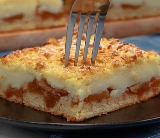 Labai greitas ir skanus obuolių pyragas. Palepinkite šeimą