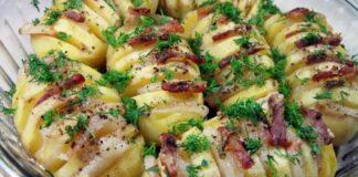 Bulvės- armonikos. Patiekalas, kurį negėda patiekti svečiams