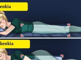 Tinkamiausios miego padėtys, kurios neturi įtakos grožiui