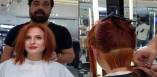 Moteris paprašė kirpėjo padaryti tokią šukuoseną, kad vizualiai jos nosis atrodytų mažesnė. Pažiūrėkite!