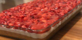 Jei namuose turite braškių, pasigaminkite šį skanumyną! Desertas, kuris sužavės kiekvieną