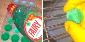 Moteris užšaldo indų plovimo skystį ir vėliau jį naudoja neįprastais būdais. Pabandykite ir jūs!