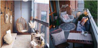 Įdomios idėjos, kaip sukurti jaukų boho balkoną