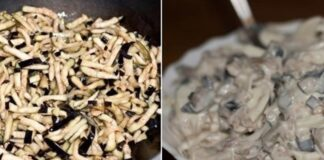 Baklažanų salotos. Kaip jas padaryti panašias į grybus?
