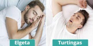 Jūsų finansinė sėkmė priklauso nuo to, kurioje padėtyje miegate