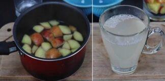 Obuolių arbata su česnaku - puikus gėrimas, kuris sustiprins jūsų imuninę sistemą!