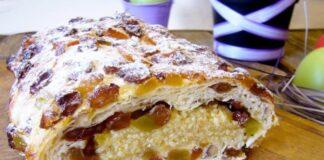 Olandiškas saldus pyragas su riešutais. Išbandykite!