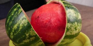 Kaip geriausiai pjaustyti arbūzą? Sužinokite!