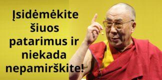 Išmintingi Dalai Lamos patarimai vienišoms moterims
