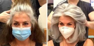 23 moterys, kurios nesigėdija savo žilų plaukų. Pilka joms puikiai tinka!