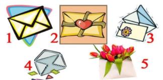 Testas: kurį stebuklingą voką pasirinksite ir kokį laišką gausite?