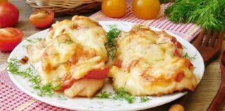 Vištienos kepsneliai su pomidorais. Sveikas ir skanus patiekalas