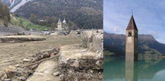 Italijoje iškilo prieš 70 m. nuskendęs kaimas. Kas iš jo liko?