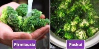 Kaip teisingai plauti vaisius ir daržoves? Sužinokite