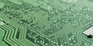 lustas elektronika čipas