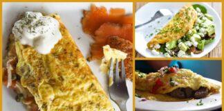 10 pačių skaniausių omleto receptų. Tiks gaminti bet kuriuo paros metu!