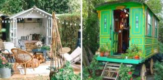 20 idėjų sodo nameliams! Unikalios ramybės oazės, idealiai tinkančios maloniam poilsiui