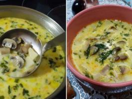 Kreminė grybų sriuba. Visi norės jos pakartoti...