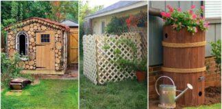 Triukai, kaip sode paslėpti arba su aplinka sulieti neišvaizdžius statinius
