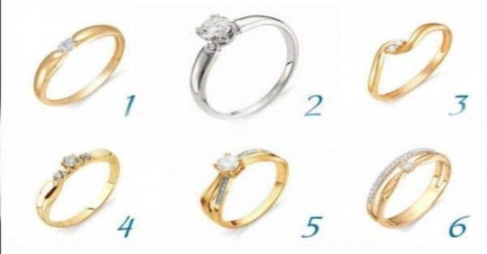Pasirinkite žiedą ir sužinokite šį tą stebuklingo apie save