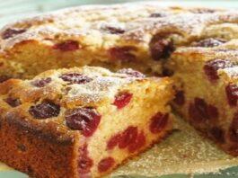Vyšnių pyragas: toks paprastas, bet be galo gardus!