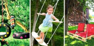 13 originalių idėjų sodo sūpynėms. Ant jų suptis norės ne tik vaikai!