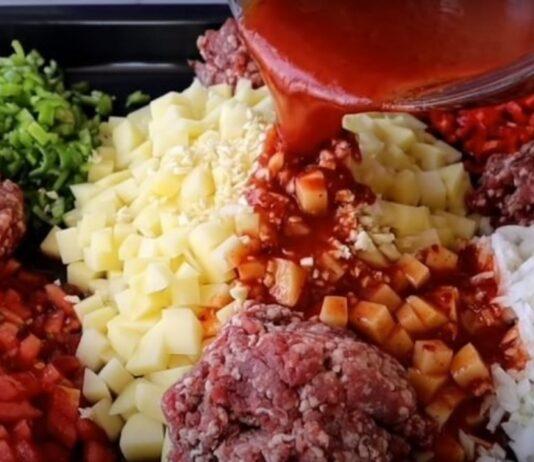Vieno indo vakarienė: malta mėsa su daržovėmis. Patiks net vaikams