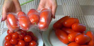 Kaip išsaugoti pomidorus žiemai jų nekonservuojant?