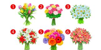Testas: pasirinkite gėlių puokštę ir sužinokite, kokia moteris esate