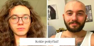 Vyrai, kurie nusikirpo ilgus plaukus. Trumpi jiems tinka daug labiau!