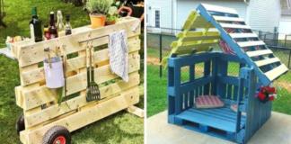18 skirtingų idėjų, kaip panaudoti paletes sode