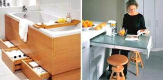 18 baldų ir prietaisų, puikiai tinkančių mažam interjerui. Kūrybingi sprendimai ir projektai
