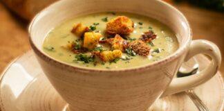 Kreminė česnakų sriuba. Sveikas ir sotus patiekalas