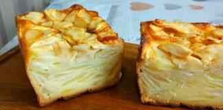 Prancūziškas obuolių pyragas. Norėsite jo dar ir dar