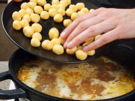 Vištienos sriuba su sūrio rutuliukais. Sveikas ir sotus patiekalas