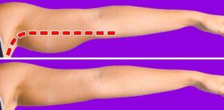 Pratimai, skirti rankų raumenims įtempti. Užtruksite vos 5 min. per dieną