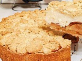 Obuolių pyragas su varške. Už jį skanesnio nerasite