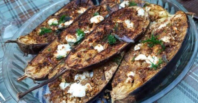 Tbilisyje garsus patiekalas: pikantiškai kepti baklažanai
