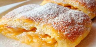 Štrudelis su obuoliais. Tradicinis austriškas desertas