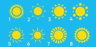Įdomus testas: pasirinkite saulę ir sužinokite apie save daugiau