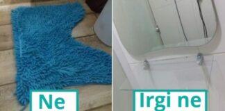 Daiktai, kuriems vonioje turėtų nelikti vietos. Kokie jie?