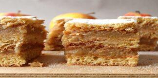 Labai skanus, sluoksniuotas obuolių pyragas