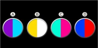 Pasirinkite spalvų derinį ir sužinokite, kaip jūs mokate mylėti