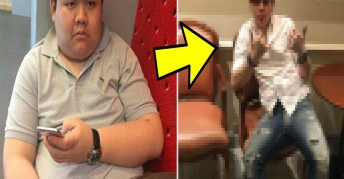 Dėl antsvorio praradęs merginą, jaunuolis nusprendė pakeisti savo išvaizdą. Kaip jam pavyko?