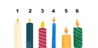 Pasirinkite žvakę ir perskaitykite savo prognozę!