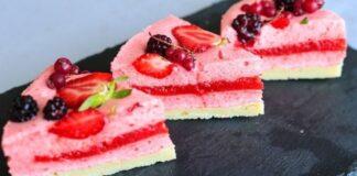 Braškių suflė pyragas: lengvas ir beprotiškai skanus desertas
